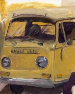 VW , print on canvas, 16x20, $$260.0000